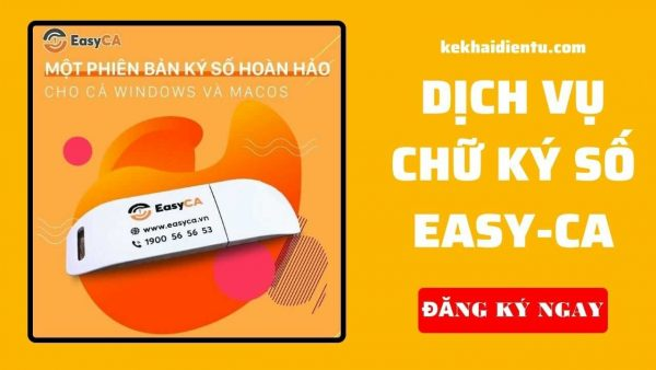 Dịch vụ chữ ký số easy-ca của kekhaidientu.com