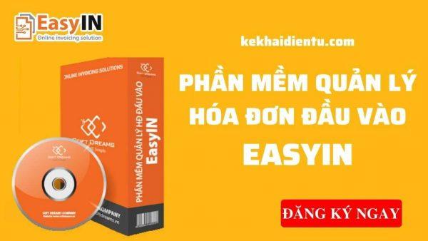 EasyIN-Phần mềm quản lý hóa đơn đầu vào
