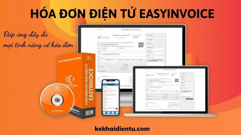 hóa đơn điện tử Easyinvoice đáp ứng mọi tính năng