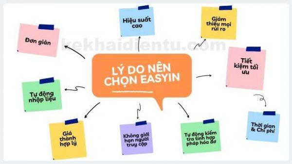Lý do nên chọn phần mềm EasyIN