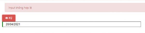 Lỗi ngày ký không hợp lệ trong hóa đơn điện tử AZ
