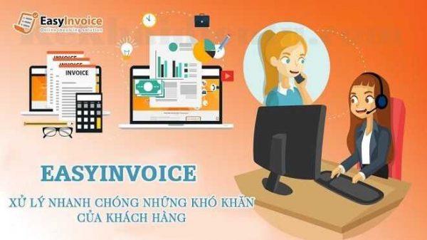 Easyinvoice hỗ trợ 24/7